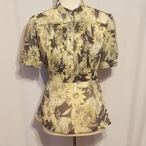 Apt. 9 Sheer Summer Blouse